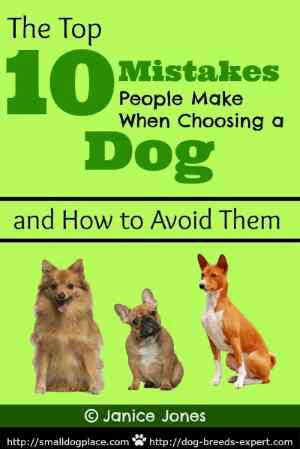 The Top 10 Mistakes People Make When Choosing a Dog, free ebook