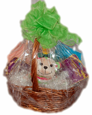How to make your own puppy gift basket