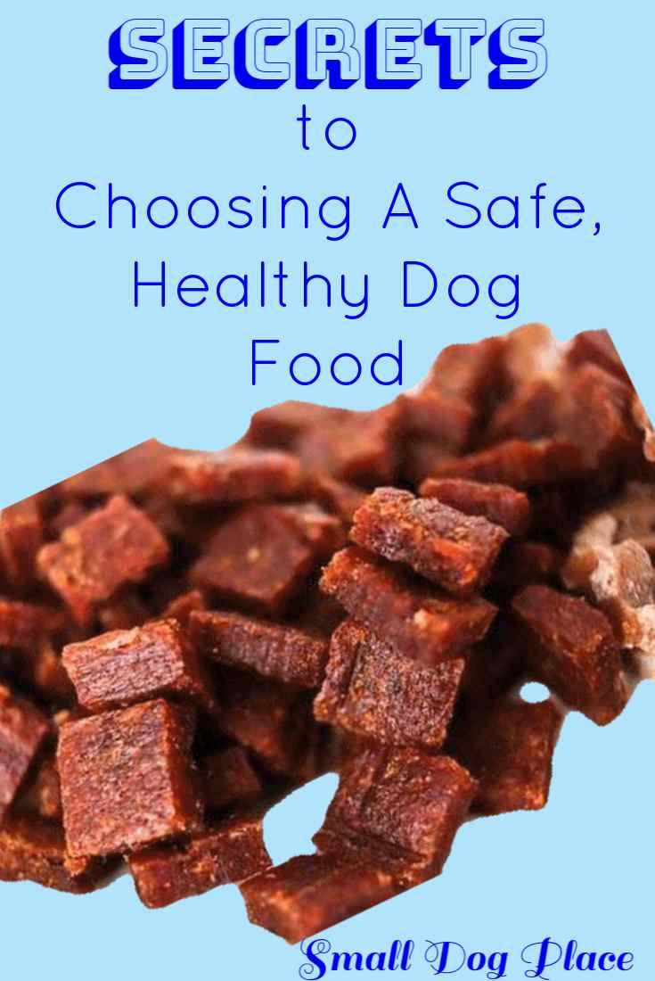 Secrets to Choosing a Safe, Healthy Dog Food