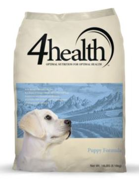 Puppy Diamond Dog Food >> 4Health Puppy Food Review