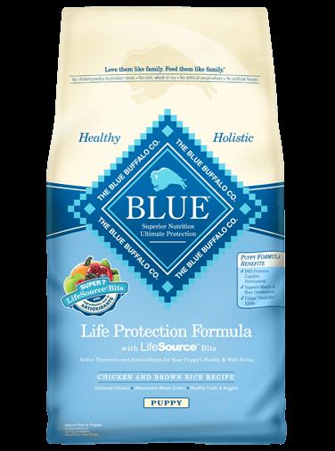 Package of Blue Buffalo