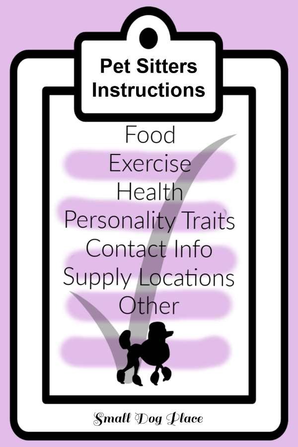 Pet Sitters Instructions Graphic to Pin