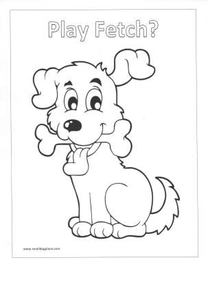 Kids Puppy Coloring Pages: All Free