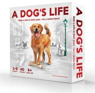 A Dog's Life Board Game Box