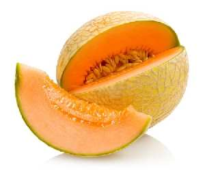 Fruits and Vegetables for Dogs:  Cantaloupe