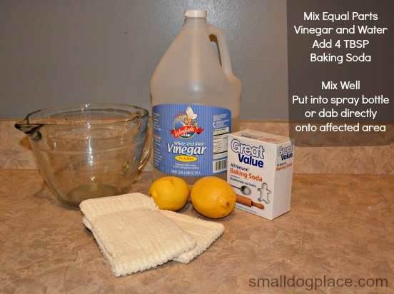 Recipe for a cleaning solution