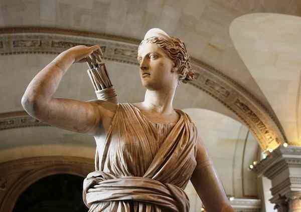 Diana, Greek goddess of the hunt