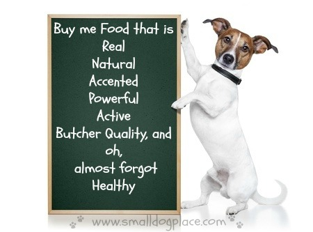 List of claims made by dog food companies