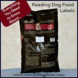 How to read a dog food label