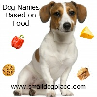 Dog Names Based on Food Items