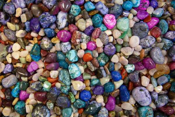 Dog Names from Nature:  Precious stones, minerals and gems