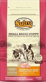 Nutro Natural Choice Small Breed Puppy Food