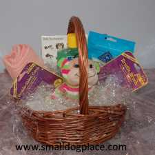 Do it Yourself Gift Basket for a new Puppy Owner