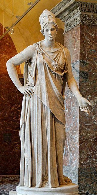 Athenia, Greek goddess of wisdom