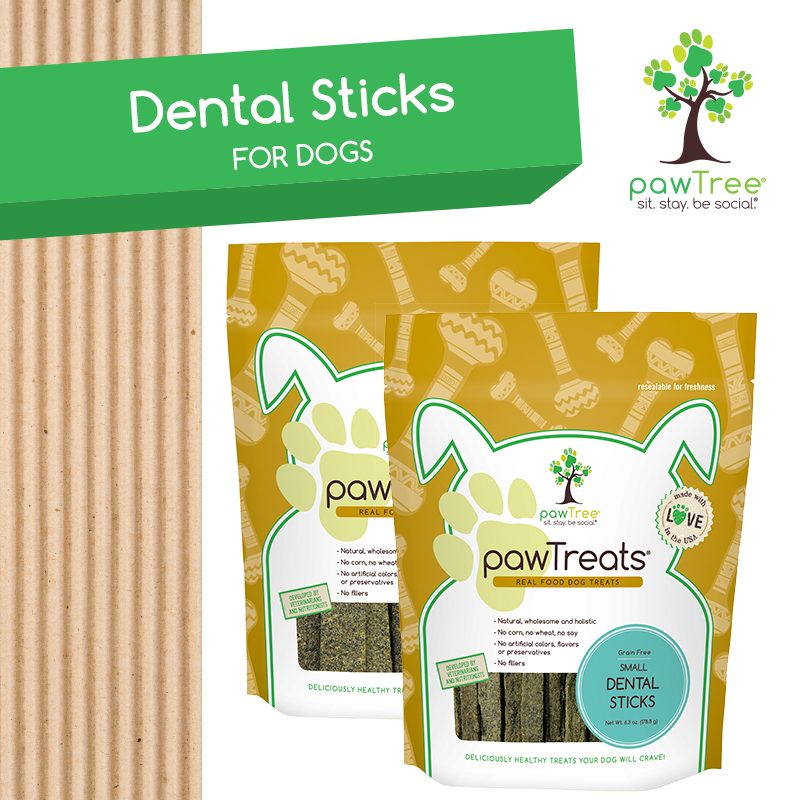 Shop pawTree Treats Dental Sticks and Build your own Paw Box