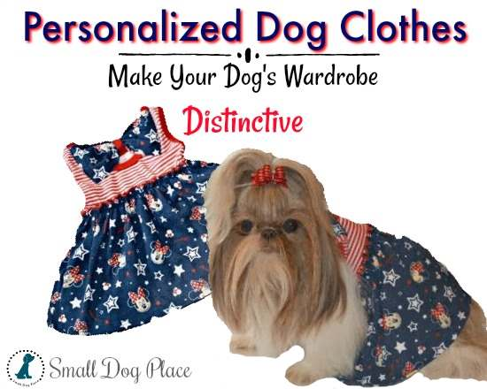 Personalized Dog Clothes:  Turn old infant dresses into a new dog dress.