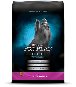 Pro Plan Focus Dog Food Review of the Toy Breed Formula
