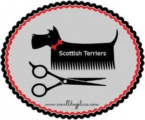 Scottish Terrier Grooming Sign