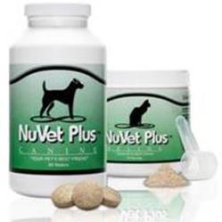 NuVet Plus Powder and Wafer Supplements