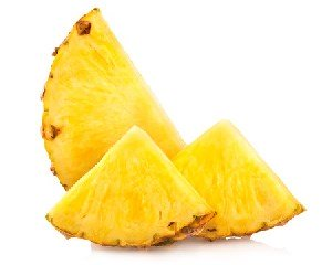 Fruits and Vegetables for Dogs:  Pineapple