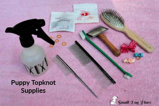 Puppy Topknot supplies