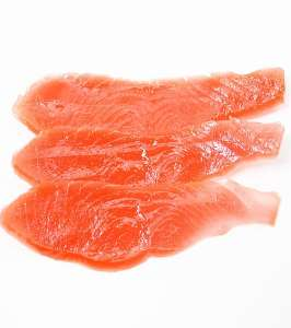 Fish such as salmon should be included in your small dogs' homemade diet.