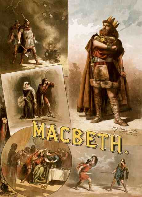 Shakespeare's Macbeth poster